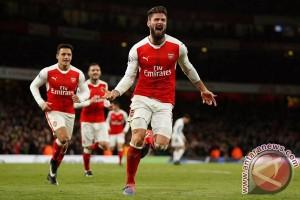Giroud Amankan Kemenangan Arsenal Atas WBA