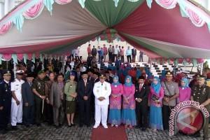 Pemkab Mukomuko Gelar Upacara Bendera Peringati HUT Ke-14