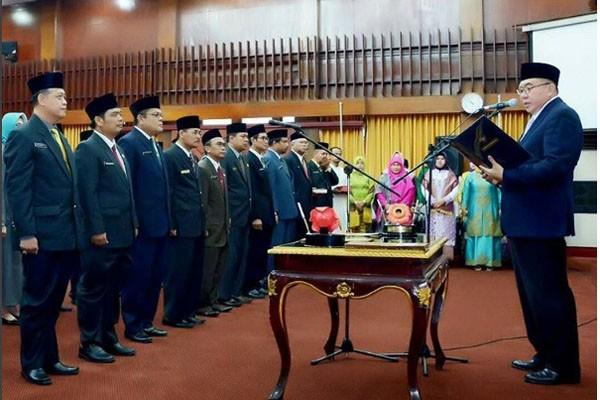 Gubernur Bengkulu Lantik 27 Pejabat Tinggi Pratama
