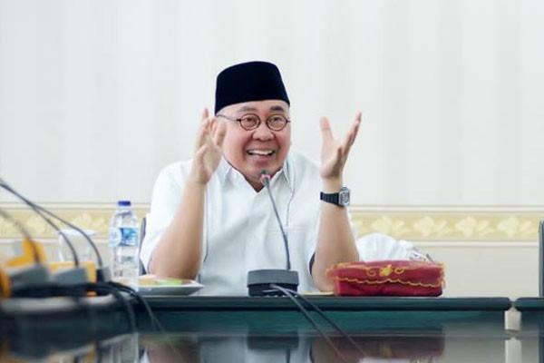 Gubernur Bengkulu Berkantor Di Dinas PUPR