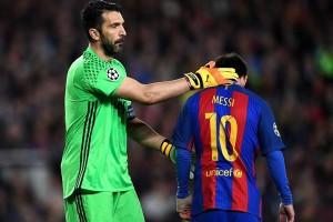 Buffon Tak Menyangka Juventus Imbangi Barcelona 0-0