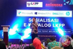 LKPP Dan Bhinneka Sosialisasi E-Katalog Pengadaan Barang