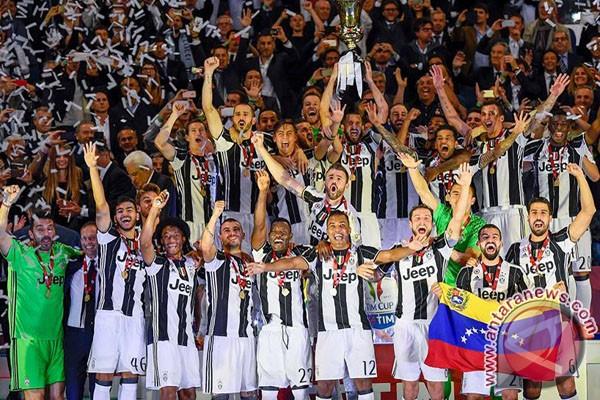 Juve Menangi Piala Italia Untuk Jaga Peluang