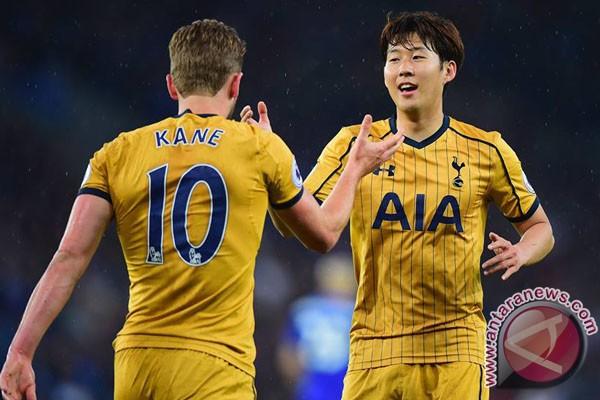 Empat Gol Kane Bantu Spurs Hancurkan Leicester