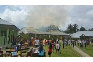 DPRD Koordinadikan Solusi Bangun Gedung Sekolah Terbakar