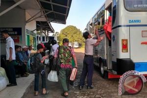 Pemudik Bengkulu Gunakan Bus Naik 20 Persen