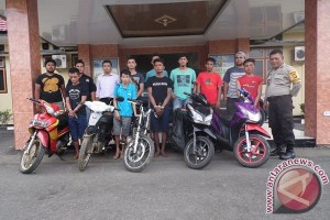 Polisi Amankan Tiga Pencuri Sepeda Motor