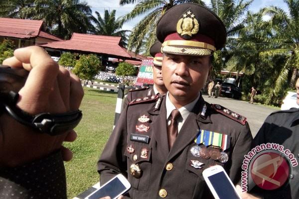 Polisi Menentukan Titik Koordinat Hutan Rusak