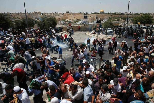 "Warga Palestina Gelar ""Hari Kemarahan"" Terhadap Keputusan AS"