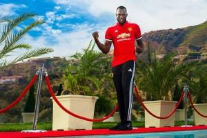 United Resmi Rekrut Penyerang Belgia Lukaku