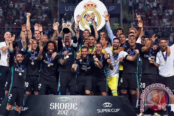 Real Madrid Kalahkan United Di Piala Super Eropa