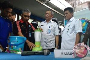 BNN Bengkulu Musnahkan 1,1 Kg Sabu-Sabu