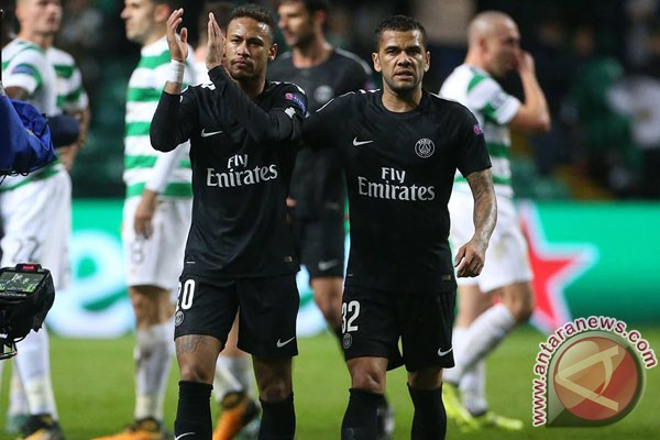Neymar Buka Pesta Gol PSG Di Kandang Celtic