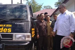 Mendes Beri Stimulan BUMDES Bengkulu Selatan