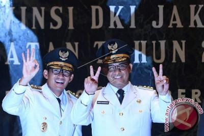 Resmi Pimpin Jakarta, Anies-Sandi Ajak Warga Jaga Kesatuan