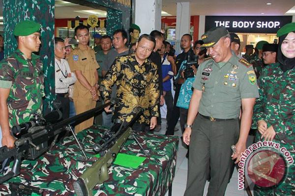 Gubernur: Pameran Alutsista Bangun Kecintaan Pada TNI