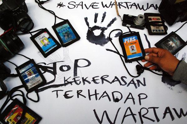Wartawan MetroTV Laporkan Kasus Kekerasan Ke Polres