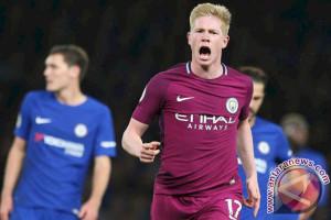 Gol De Bruyne Antar City Kalahkan Chelsea