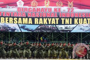 TNI-Rakyat Bersama Jaga Keamanan Perbatasan