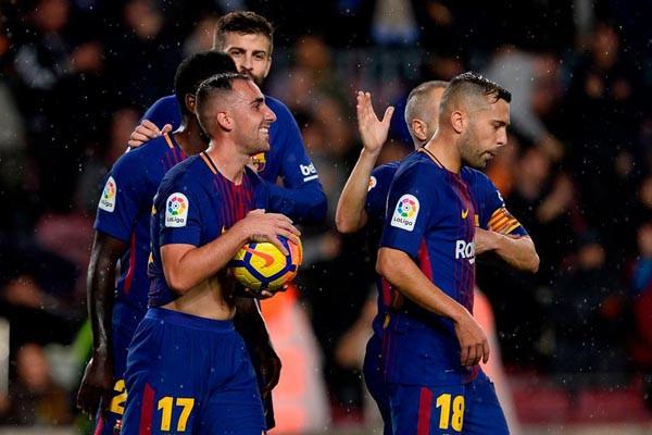 Laju tak terkalahkan Barcelona tertahan di markas Levante