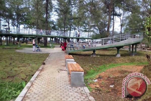 Ada Taman Bermain Baru di Pantai Panjang Bengkulu