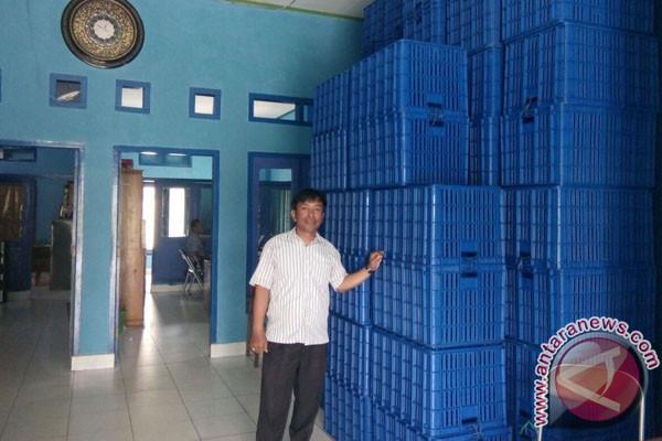 DKP Seleksi Penerima Bantuan Keranjang Penyimpanan Ikan