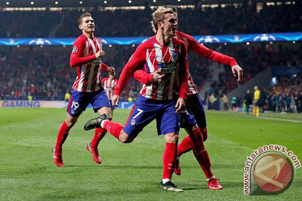 Griezmann Bawa Asa Atletico Madrid