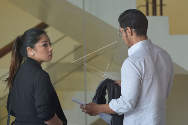 Anak Novanto kembali bungkam seusai diperiksa KPK