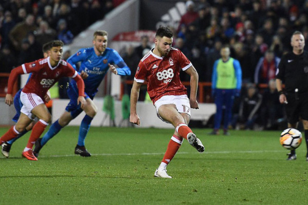 Juara bertahan Arsenal disingkirkan Nottingham Forest