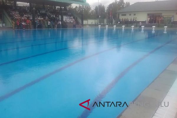 Kolam renang Yonif 144 Curup dibuka untuk umum