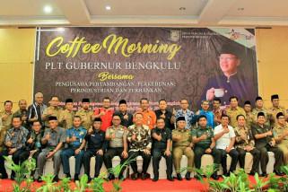 Gubernur Bengkulu ajak masyarakat konsumsi kopi lokal