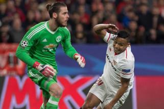 Liga Champions - Tampil gemilang De Gea selamatkan United di markas Sevilla