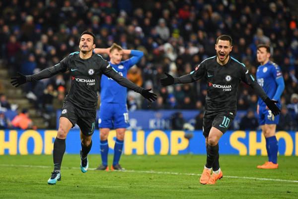 Gol Pedro pastikan Chelsea ke semifinal Piala FA