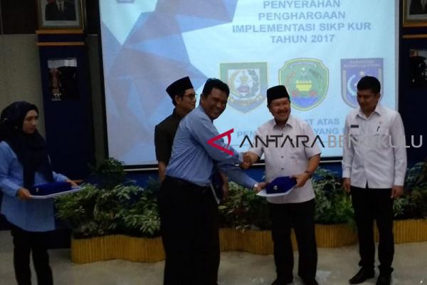 DJPBN Bengkulu beri penghargaan penyaluran KUR terbaik