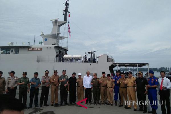 KRI Kurau patroli di perairan Bengkulu
