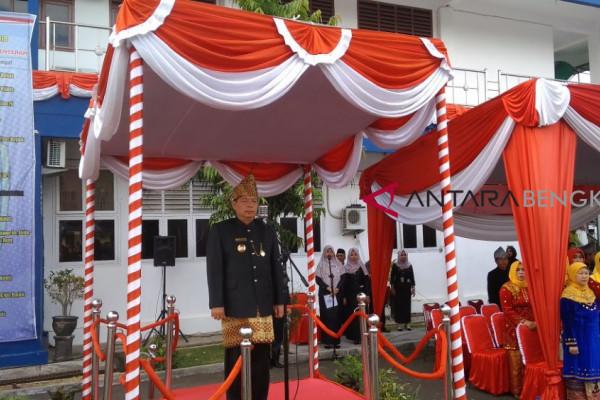 Kota Bengkulu gelar upacara peringati HUT ke-299