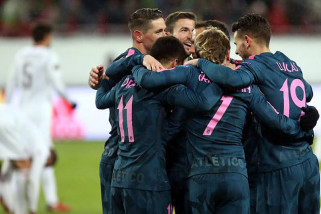 Atletico melaju mulus ke perempat final Liga Europa