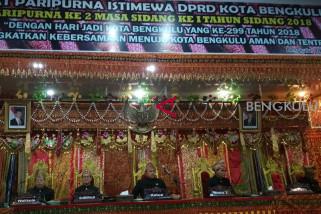 Paripurna HUT Kota Bengkulu gunakan pakaian adat