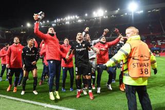 United tersingkir setelah Yedder sumbang dua gol Sevilla