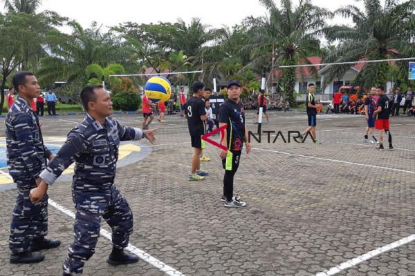 Turnamen Volly Lanal Bengkulu