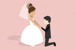 Suami istri diharapkan selalu membangun cinta