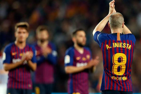 Iniesta semakin dekat berlabuh di klub Jepang