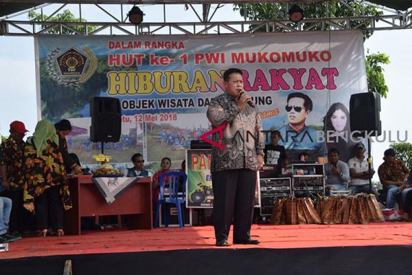 Pemkab Mukomuko kerja sama promosikan Danau Nibung
