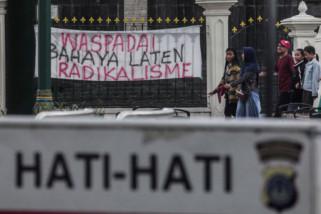 Polri: Masyarakat waspada tapi jangan takut teroris