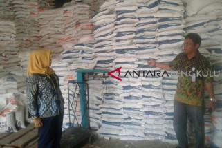 Stok Bulog Rejang Lebong mencapai 1.600 ton