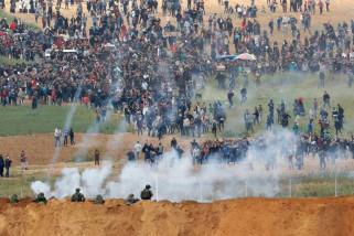 Serangan Israel membuat libur Idul Fitri di Gaza kelam