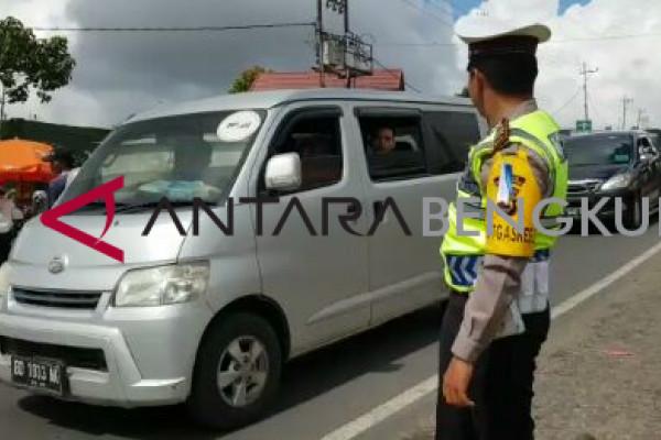 Polisi Rejang Lebong jaga jalan penghubung antarprovinsi