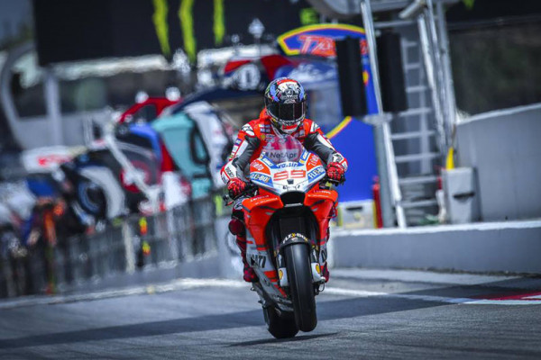 Lorenzo menangi MotoGP Austria