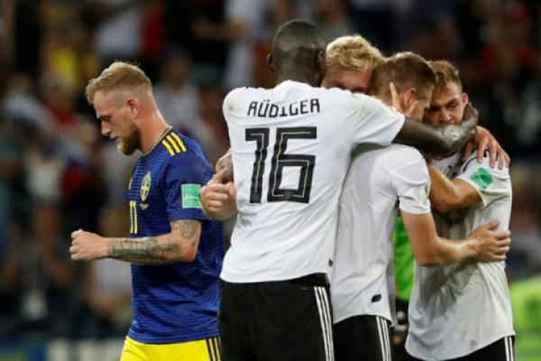Toni Kroos selamatkan muka Jerman