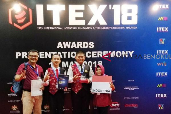 Semprotan antinyamuk karya pelajar Bengkulu Selatan menang di Malaysia